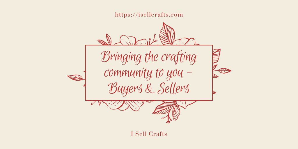 I sell Crafts banner image.